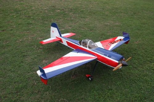 "Goldwing Rc yak 55M 70E 60"" ARF Series Electric C F Version Red-White-Blue"